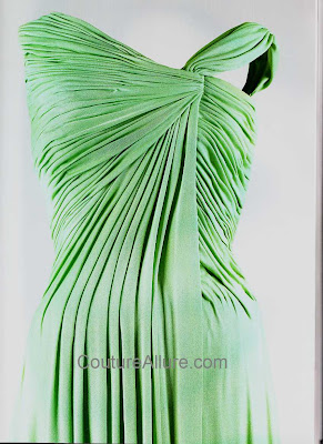 jacqueline kennedy, oleg cassini, silk jersey evening gown