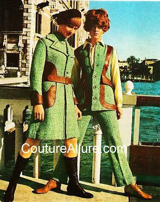 vintage suit, 1969