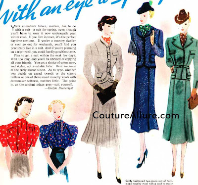 1937 suits for women