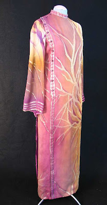 pauline trigere evening gown, 1970's