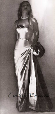 maggy rouff, evening gown 1946