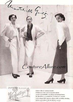 versatogs ad, 1949