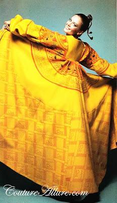 zandra rhodes coat, 1969