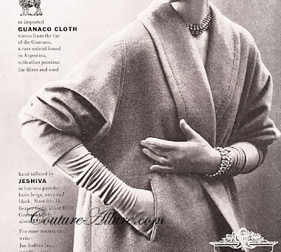1950 Fashion Show on Couture Allure Vintage Fashion  1950 S Coat Sleeve Mystery