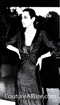 tina chow, schiaparelli dress