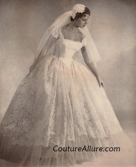 Wedding Dresses In The 1950'S 78
