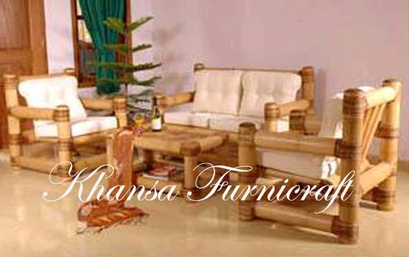 Bamboo Gazebo and Bamboo Furniture: Living Room - Bamboo Sofa 01