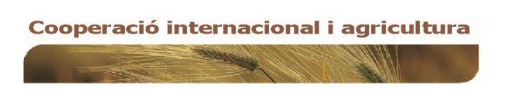 Cooperació internacional i agricultura