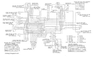 wiring diagrams chalopy rh chalopy blogspot com 1997 Honda Radio Wire Diagram Schematic Diagram Honda