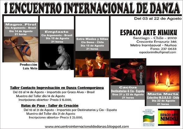 ENCUENTRO INTERNACIONAL DE DANZA