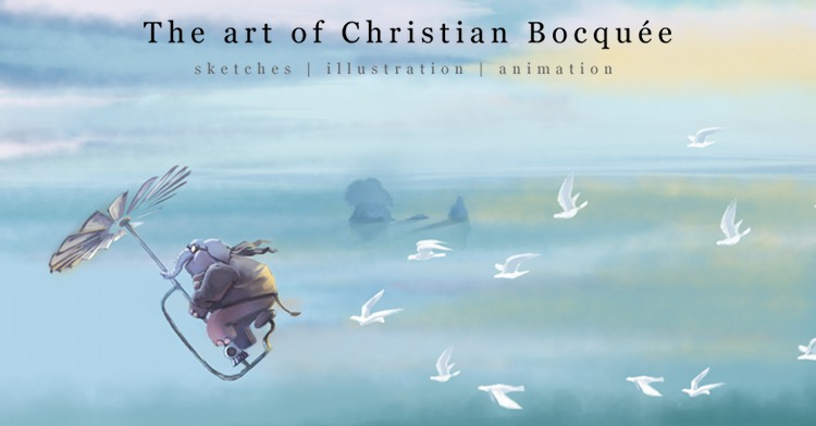 The art of Christian Bocquée