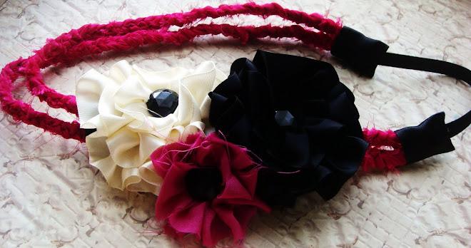 banda de flores