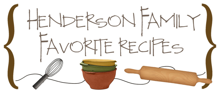 Henderson Family Favorite Recipes