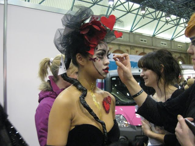 alice in wonderland make up imats 2010 student competition