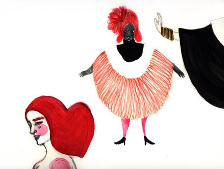 ilustracion de moda//mi moda