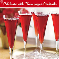 New Year Champagne Celebration Cards