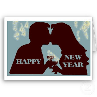 New Year Couple Cards