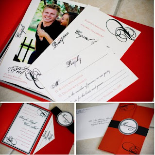 New Years Wedding Invitations