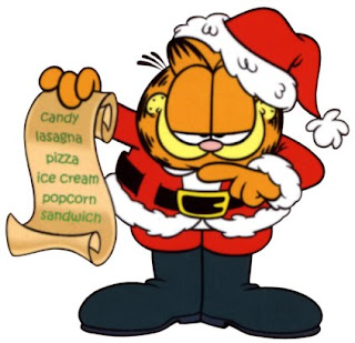 new year wishes by garfield