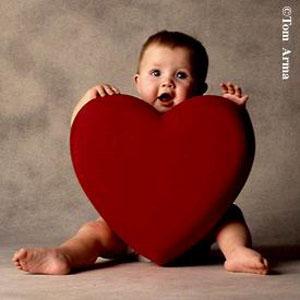 baby valentine photo cardjpg