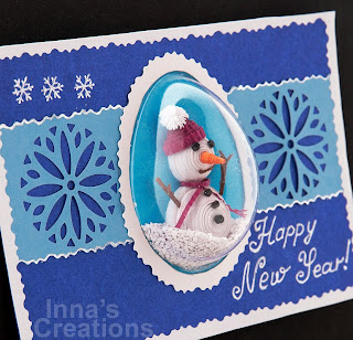 New Year Paper Cards