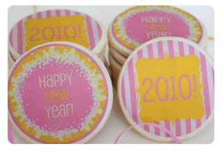 New Year Cookie Cards