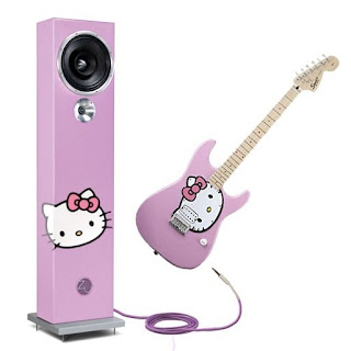 Hello Kitty Stratocaster Guitar