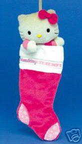 Hello Kitty Christmas Stocking
