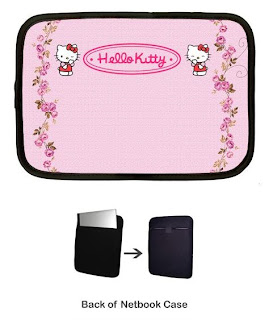Hello Kitty Netbook Mini Laptop Sleeve