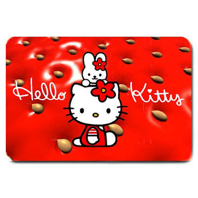 These amazing machine washable Hello Kitty doormats are ideal for all