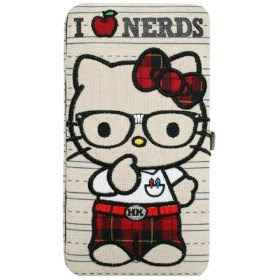 Hello Kitty Metal Frame Wallet (front)