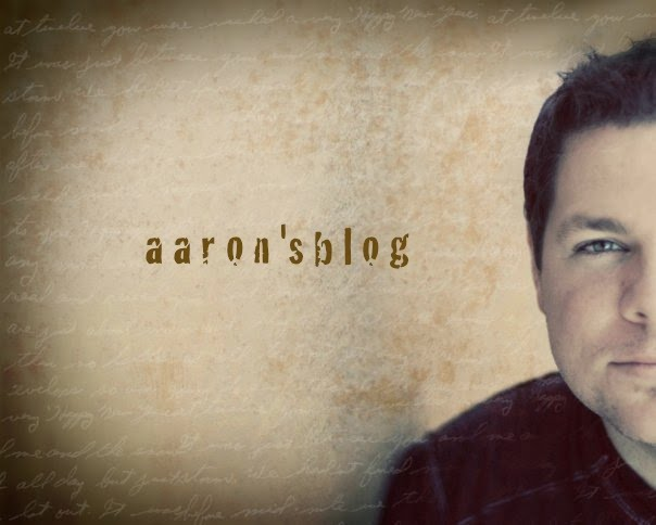 aaron&#39;s blog