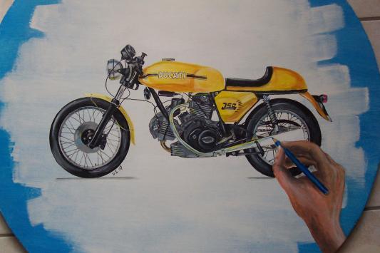 Ducati 750 sport de 1973