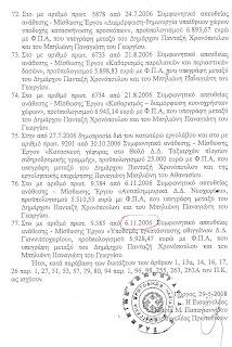 Σε δίκη για έργα 3 εκατ. ευρώ σε συγγενείς