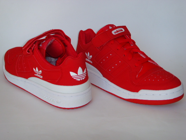 online store 0ad21 cb895 ... shopping adidas forum low de cuero roja talles usa 10 us talles  argentina 42 arg.