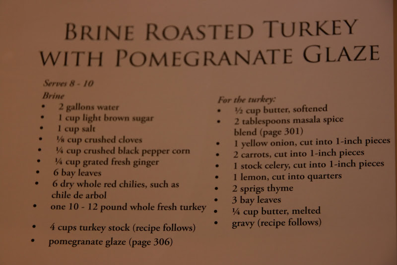 ... about this recipe for Brine Roast Turkey with Pomegranate Glaze
