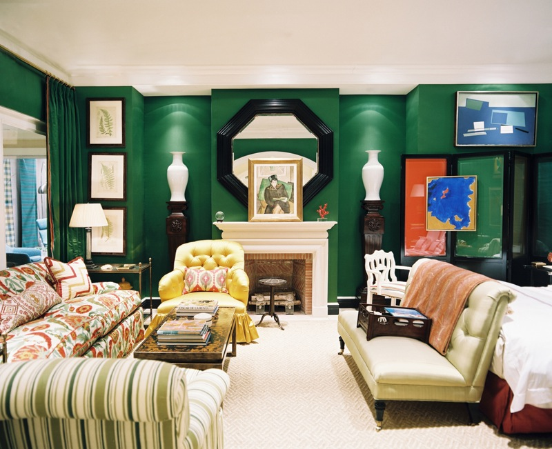 Decorating With Green Walls Mesmerizing Of Emerald Green Living Room Picture