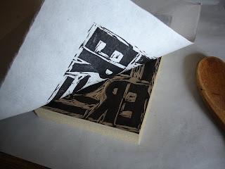 printing8 - Process: New Soul Flower Block Print Tee!