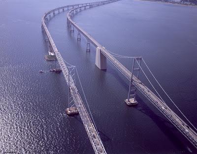 Chesapeake Bay Bridge. the Chesapeake Bay Bridge