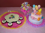 Torta,Gelatina y Galletas de Backyardigans