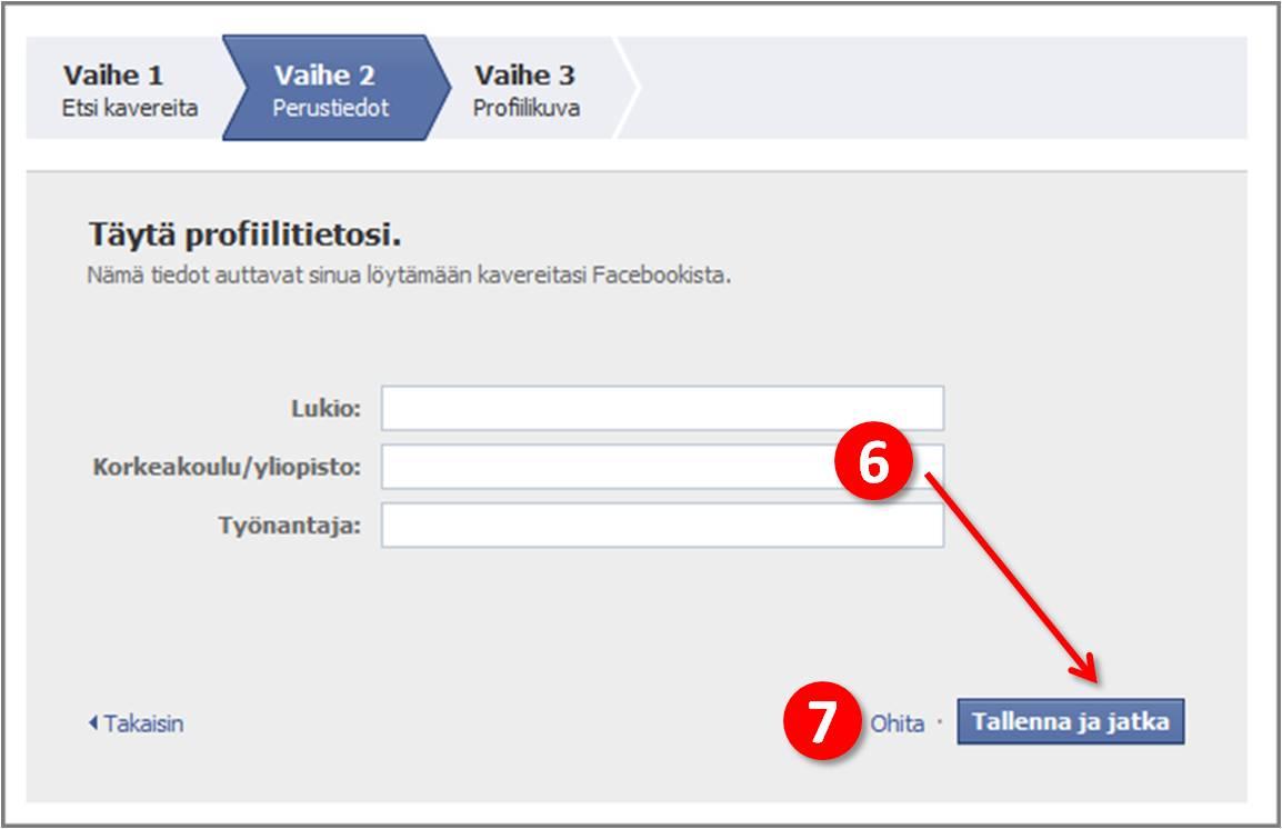 facebook vahvistuskoodi tekstiviesti Keuruu