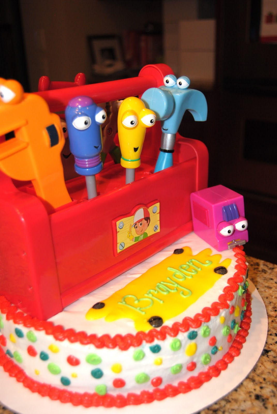 Baked By Ash Handy Manny Cake