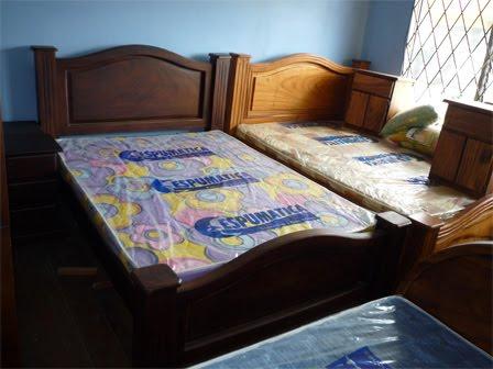 Fotos de camas de madera matrimoniales imagui for Camas matrimoniales en madera