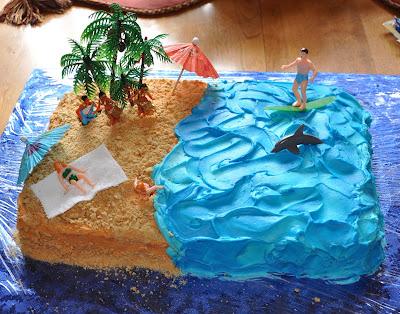 creative sparks: Hang 10 1/2 Birthday!