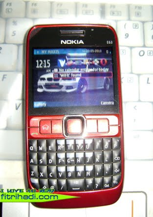 Siapa Nak Beli Nokia E63 Aku? Aku jual RM300.