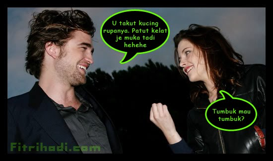 robert pattinson kristen stewart laugh smile