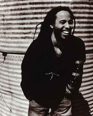 Ziggy Marley And Bob Marley. The eldest son to Bob Marley,