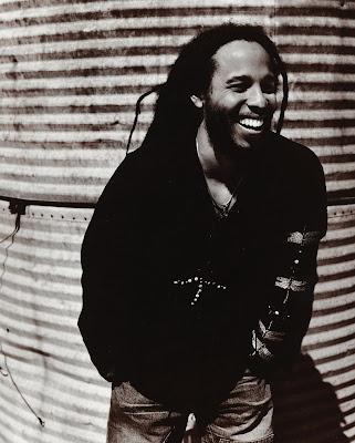Ziggy Marley And Bob Marley. The eldest son to Bob Marley,