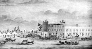 Picture of Eagle Tavern early 19th-century