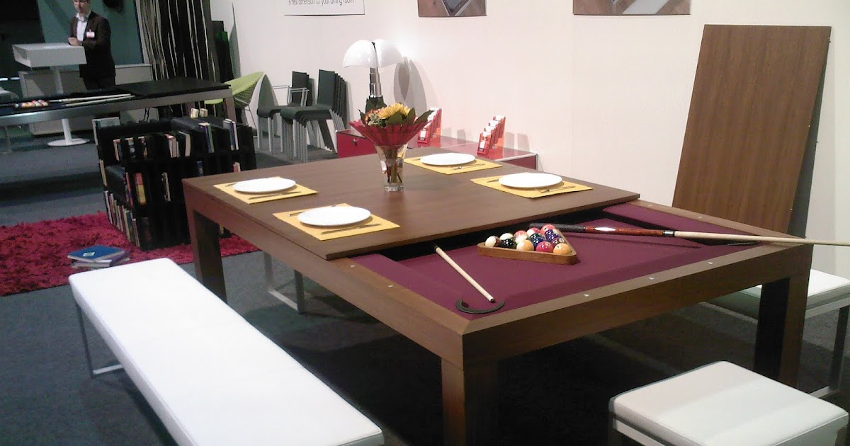 Multi Purpose Dining Table And Billiard Table Life In
